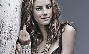 Picture shows Roxanne McKee
