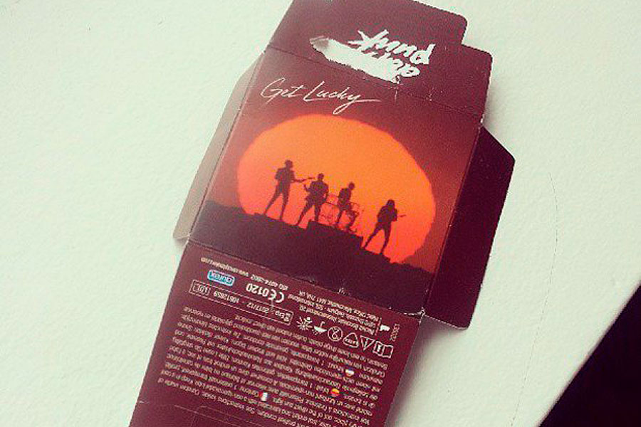 Daft Punk release their own brand of 'Get Lucky' condoms