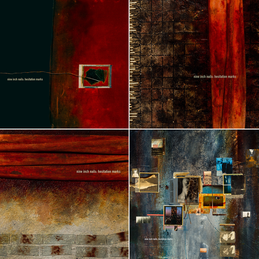 Blood used in new Nine Inch Nails album artwork - NME