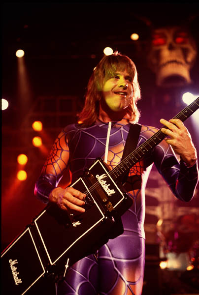 Spinal Tap in concert at The Royal Albert Hall in London.