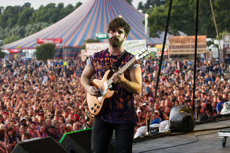 Foals' Yannis Philippakis hits out against Spotify