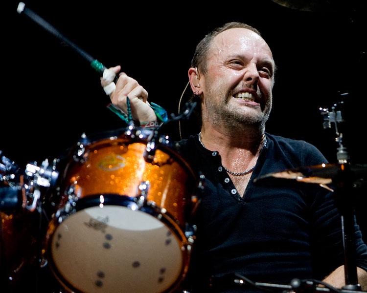 Metallica S Lars Ulrich I D Love To Drum In Noel