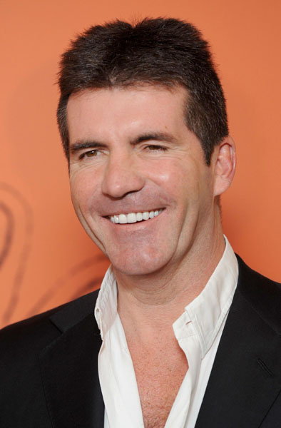 File photo dated 03/11/2008 of Simon Cowell, who has told how he would like to stage an X Factor-style TV showdown between Prime Minister Gordon Brown and Conservative leader David Cameron.