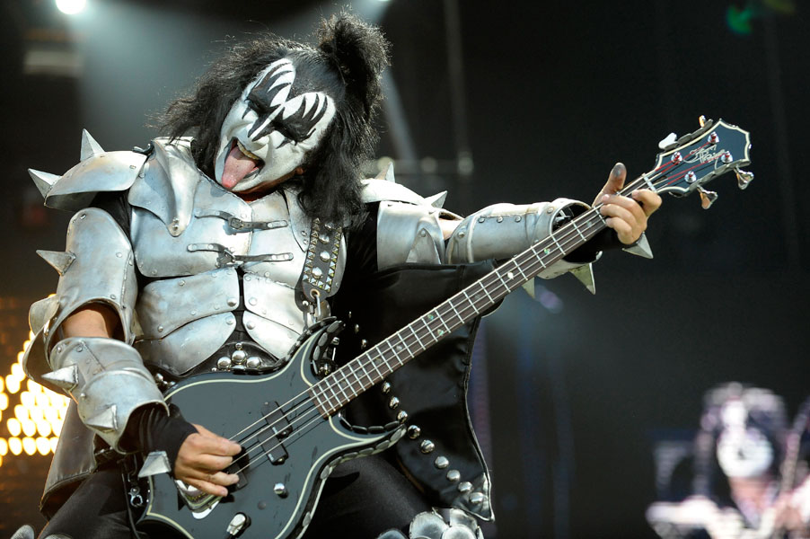 Kiss Bassist Gene Simmons To Sing Us National Anthem At
