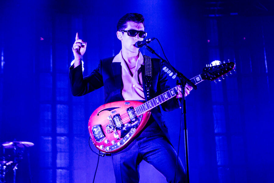 Josh Homme joins Arctic Monkeys on stage in Los Angeles – watch
