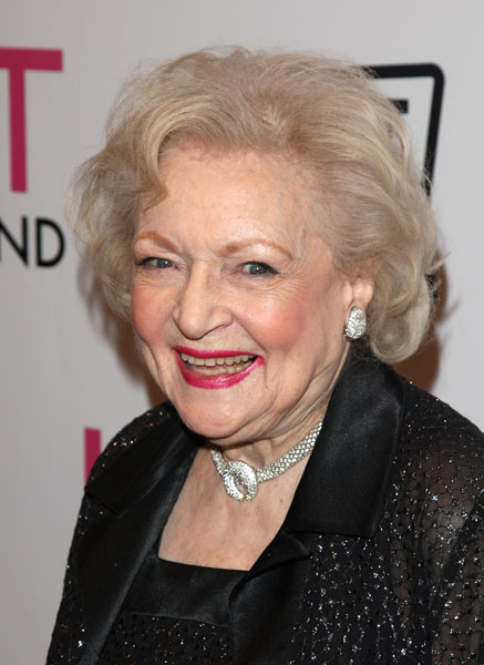 """Betty White attends the TV Land screening of """"Hot in Cleveland"""" in New York, Monday, June 14, 2010. (AP Photo/Peter Kramer)"""