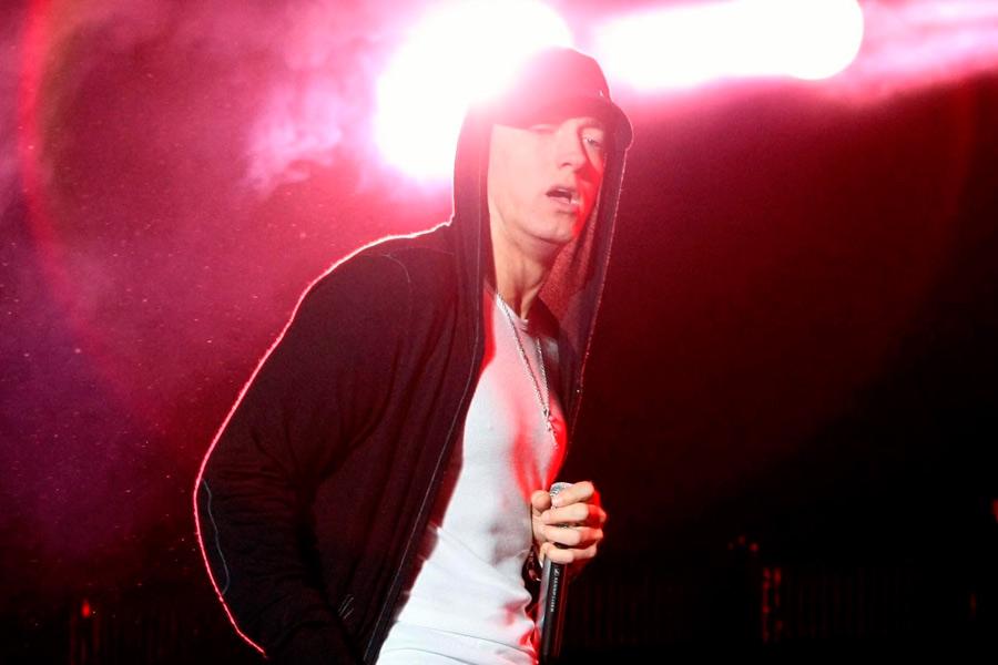 Eminem's childhood home demolished – watch