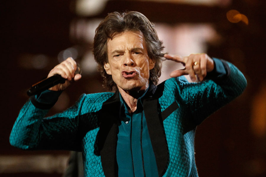 The Rolling Stones' Mick Jagger: 'I'll be camping out at