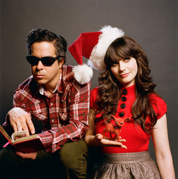 She And Him Christmas.She And Him Premiere First Track From A Very She And Him