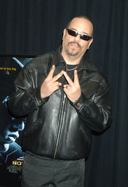 "Ice T at the premiere of ""Notorious"" at Loews Lincoln Square in New York."