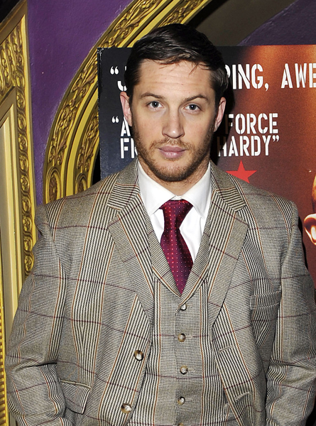 Tom Hardy attending a celebrity screening of Bronson, held at the Cineworld cinema in central London.
