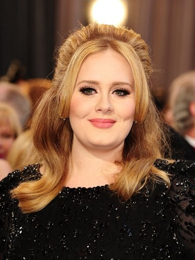 Adele arriving for the 85th Academy Awards at the Dolby Theatre, Los Angeles.