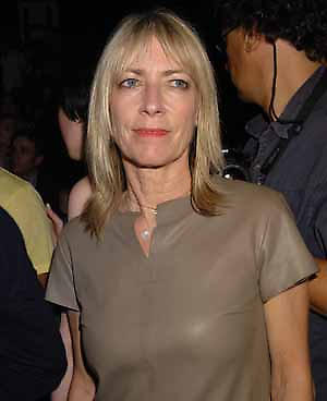 Kim Gordon attends during the Marc Jacobs Spring 2008 Collection, held at the New York State Armory, Monday, September 10, 2007 in New York. (AP Photo/Jennifer Graylock)