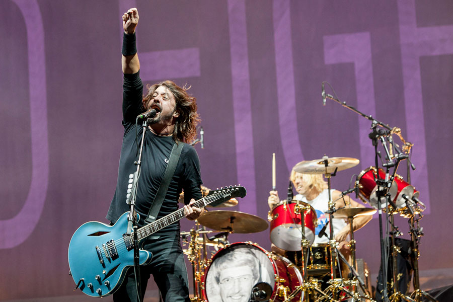 Foo Fighters reportedly recording new album in 12 different cities around the world
