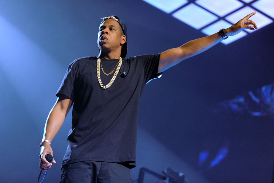Jay Z joined on stage by 12 year old fan to perform 'Clique' – watch
