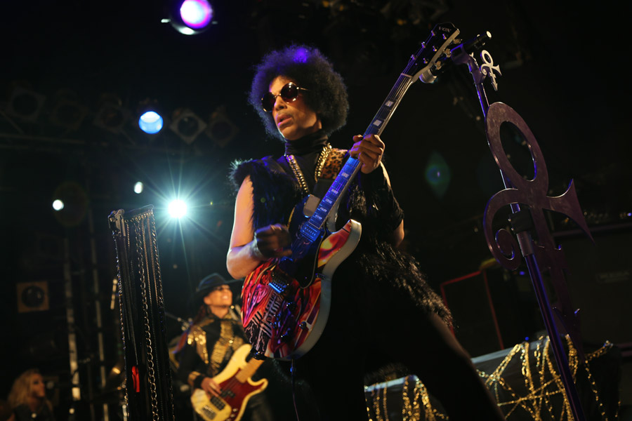 Prince to play London gig tonight (February 14)