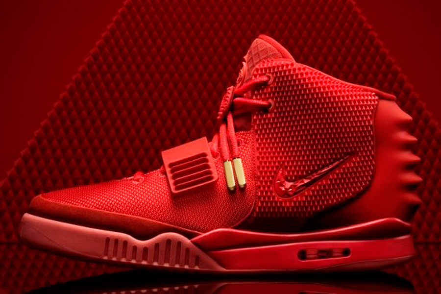 promo code 53655 da5f8 Kanye West's Air Yeezy 2 Nike trainers on Ebay for £10 ...