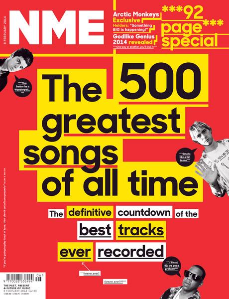 Nirvana's 'Smells Like Teen Spirit' tops NME's list of 500