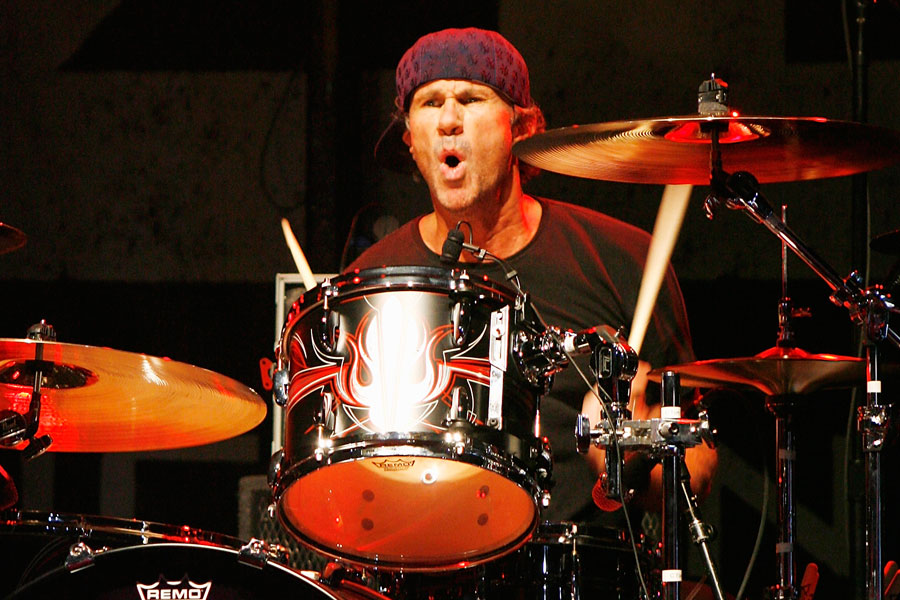 Will Ferrell accepts Red Hot Chili Peppers' Chad Smith's drum-off challenge