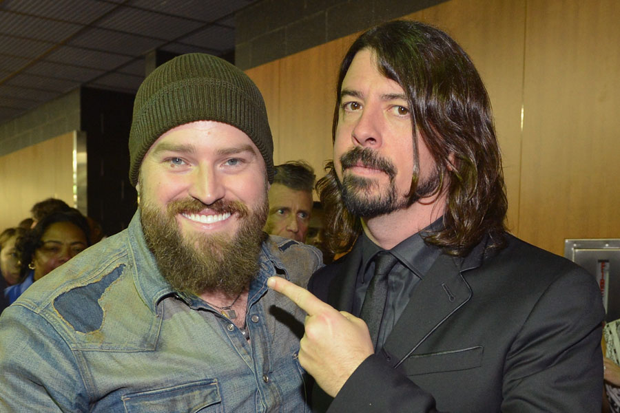 Country Superstar Zac Brown Working With Dave Grohl Was