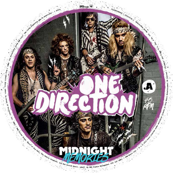 One Direction Dress Up As Glam Metal Band For Record Store Day