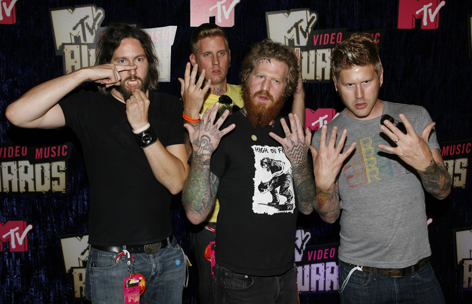 Mastodon attending the MTV Video Music Awards 2007, in Las Vegas.
