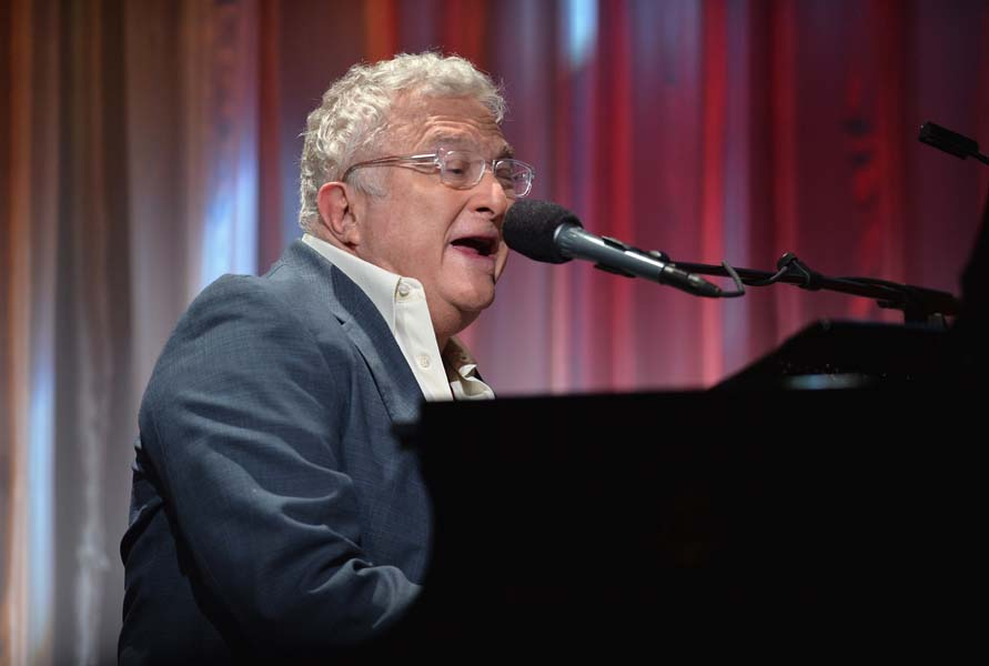 BEVERLY HILLS, CA - OCTOBER 24:  Musician Randy Newman performs at the 2013 UCLA Neurosurgery Visionary Ball at the Beverly Wilshire Four Seasons Hotel on October 24, 2013 in Beverly Hills, California.  (Photo by Alberto E. Rodriguez/Getty Images) *** Local Caption *** Randy Newman