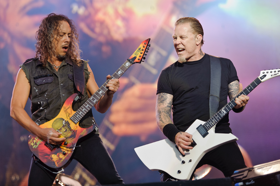 Metallica on Glastonbury criticism: 'There's a point that it just becomes ridiculous' – watch