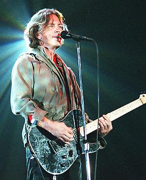 "EDDIE VEDDERAmerican Rock MusicianMember of the group ""Pearl Jam""Bandphoto Agency PhotoB19 069584   29.05.2000"