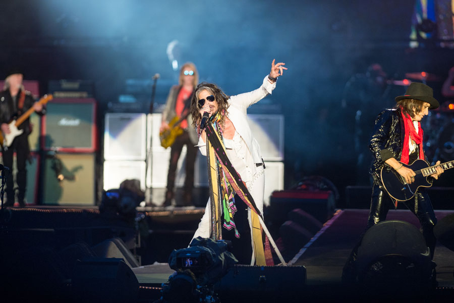 Aerosmith cover The Beatles and defy the curfew as they bring