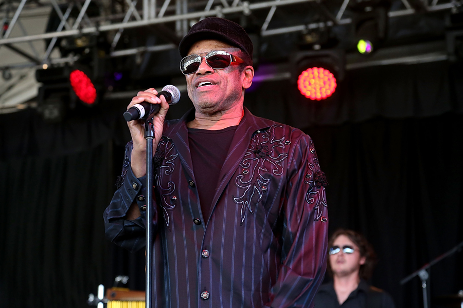MANCHESTER, TN - JUNE 14:  Bobby Womack performs in concert during the 2014 Bonnaroo Music & Arts Festival on June 14, 2014 in Manchester, Tennessee.  (Photo by Gary Miller/WireImage)