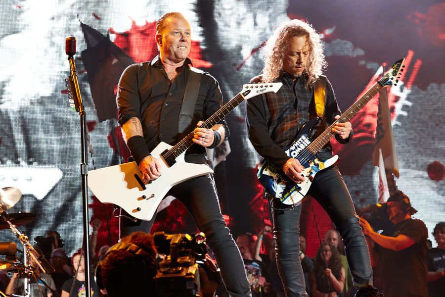 New Metallica album will be finished this summer