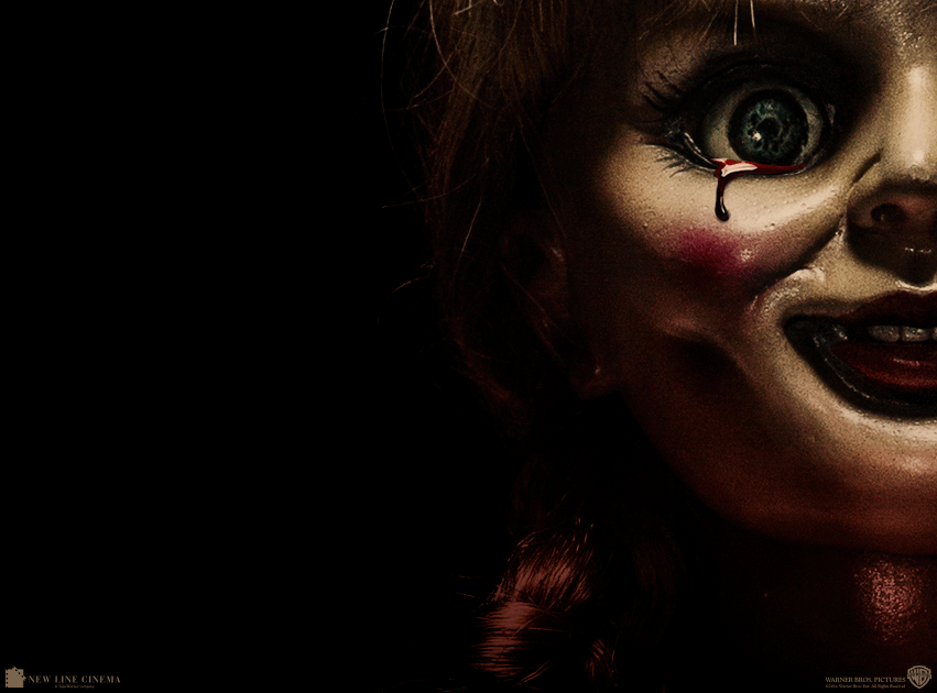 annabelle creepy doll from the conjuring gets her own scary
