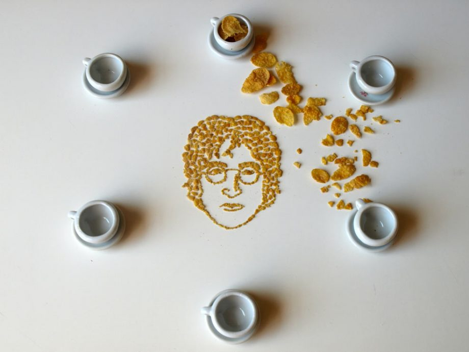 These Cornflake Portraits Of John Lennon, Michael Jackson And More Are Pretty Awesome