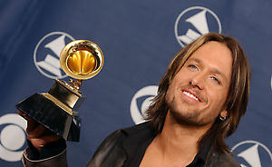 Winner for Best Country Vocal Performance Keith Urban  in the press room at the 48th Annual Grammy Awards at the Staples Center in Los Angeles, CA on February 8, 2006.