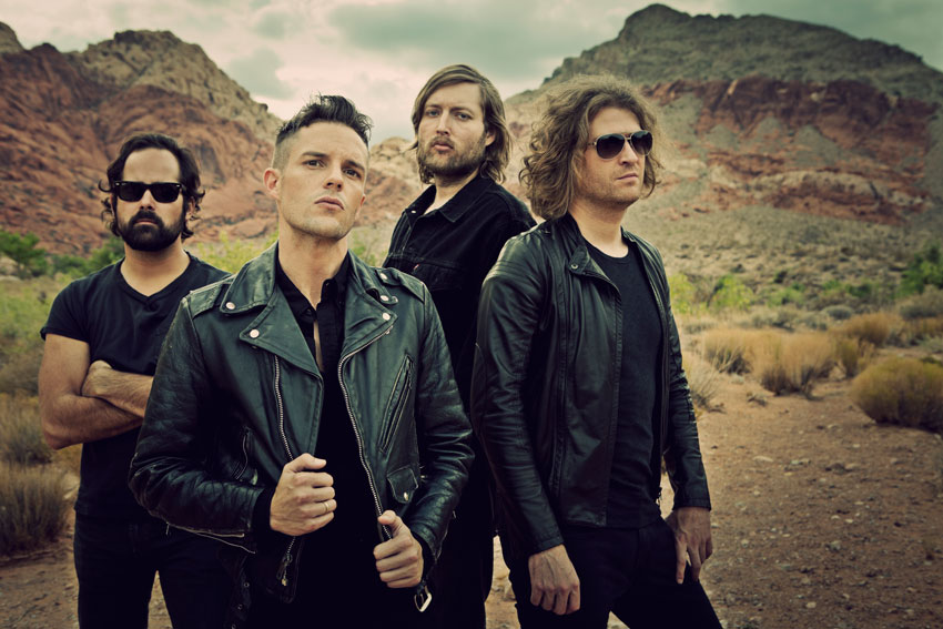 Lyric shot at the night lyrics : The Killers tease new single 'Shot At The Night' with Morse code ...