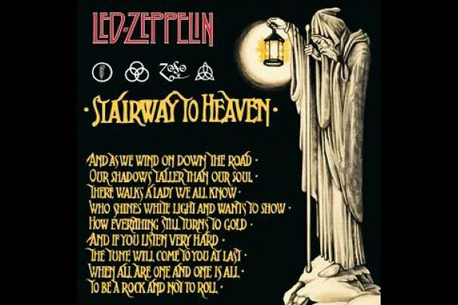Led Zeppelin's 'Stairway To Heaven': The Story Of The Iconic Rock ... NME.com900 × 600Search by image Led Zeppelin's 'Stairway To Heaven': The Story Of The Iconic Rock Epic - NME