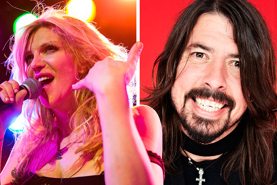 Courtney Love: 'Me and Dave Grohl are totally tight'