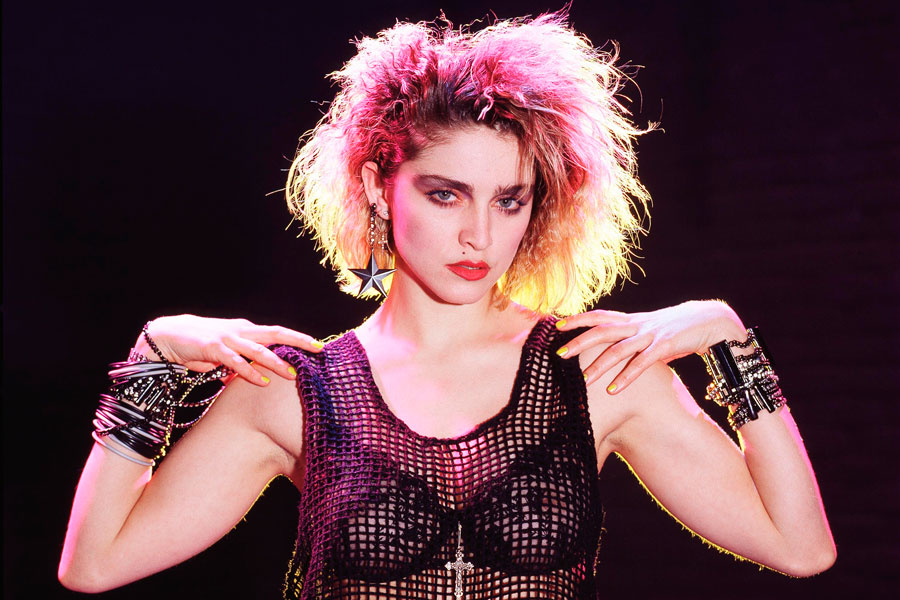 Astonishing 10 Badass Photos Of Madonna From The 80S Nme Short Hairstyles For Black Women Fulllsitofus