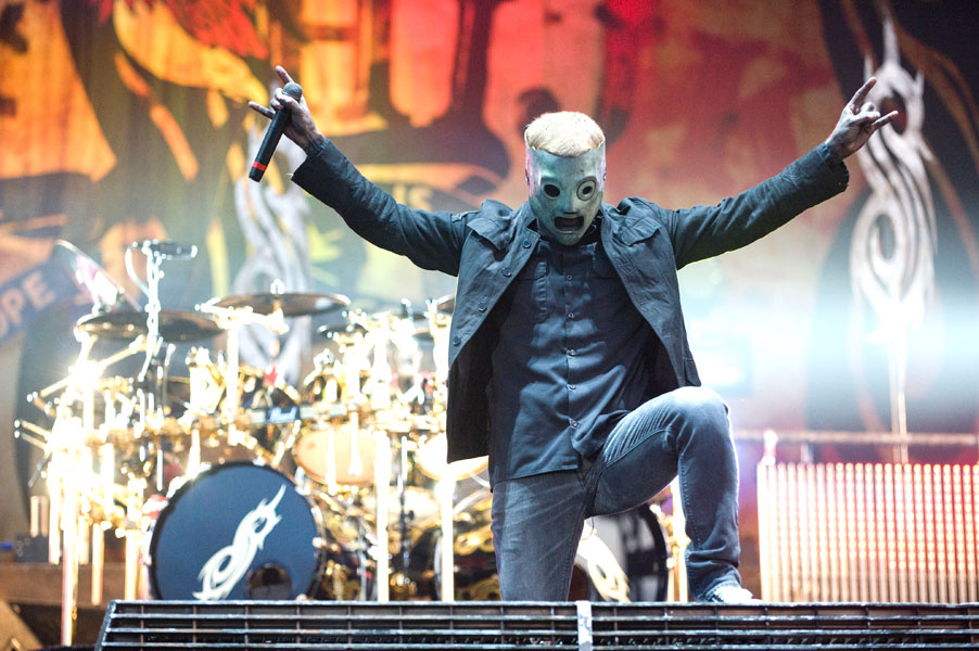 Slipknot and Korn begin first night of 'Prepare For Hell' tour in