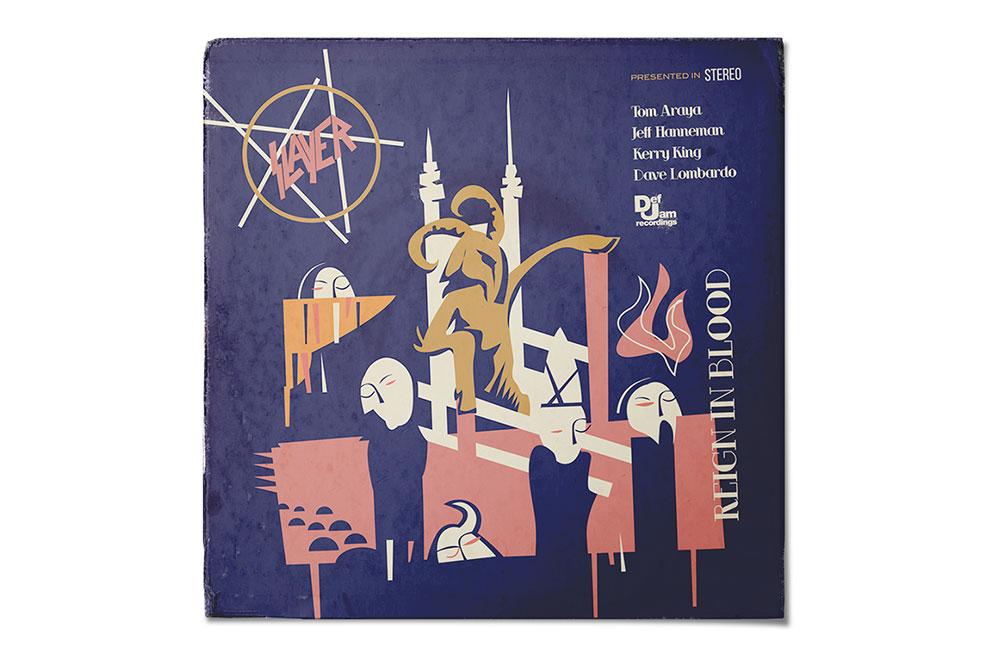 10 Classic Metal Album Covers Reimagined As 70s Jazz