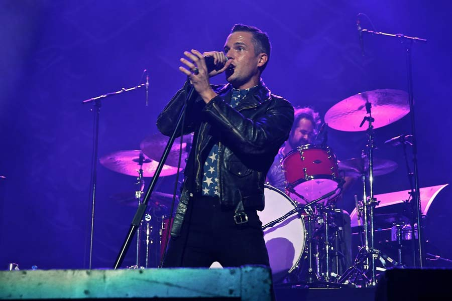 The Killers' Brandon Flowers criticises 'retarded' US pop