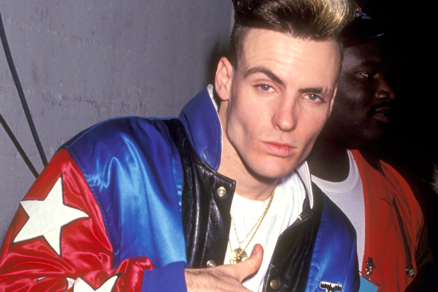 Vanilla Ice Arrested For Stealing Furniture Pool Heater