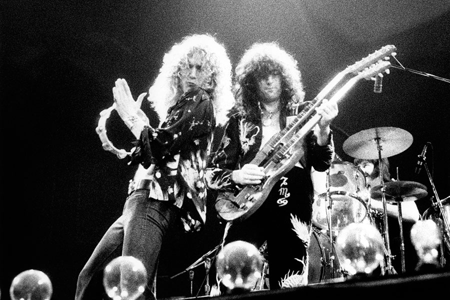 led zeppelin india