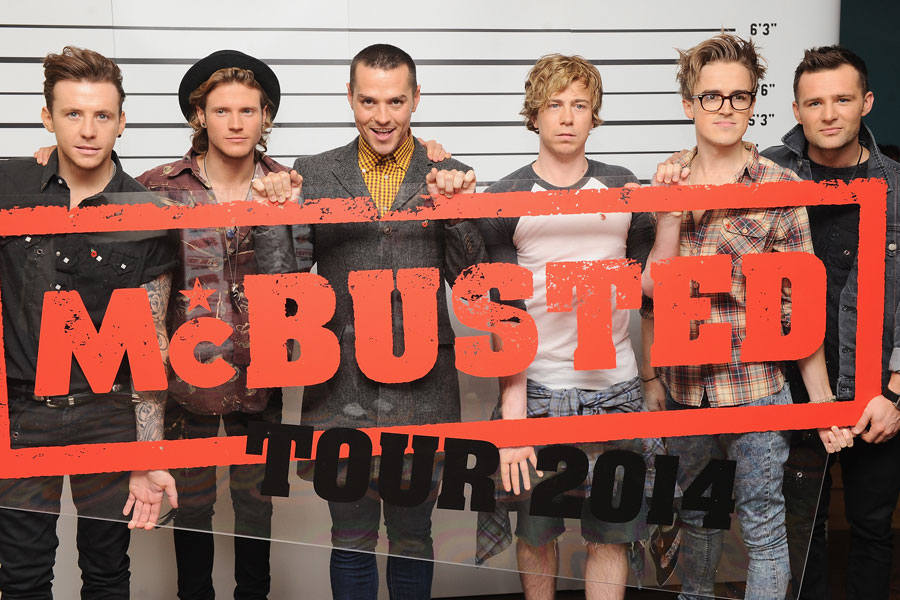McBusted to make TV debut on 'Children In Need' this Friday (November 15)