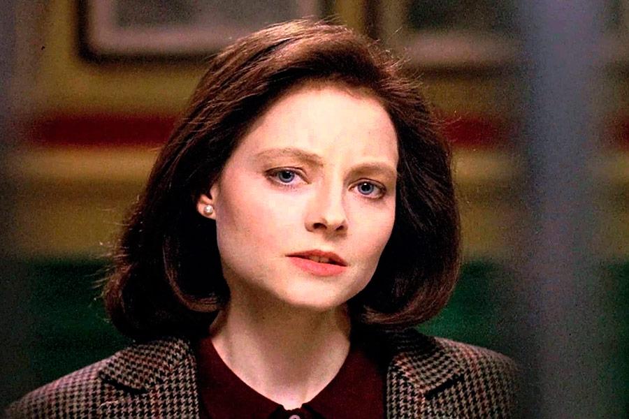 Jodie Foster em Silêncio dos Inocentes
