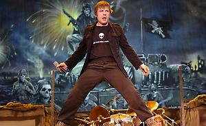 Iron Maiden close Download Festival 2007 - NME