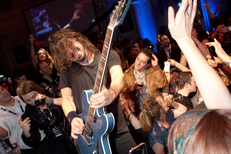 Foo Fighters at the NME Awards 2011