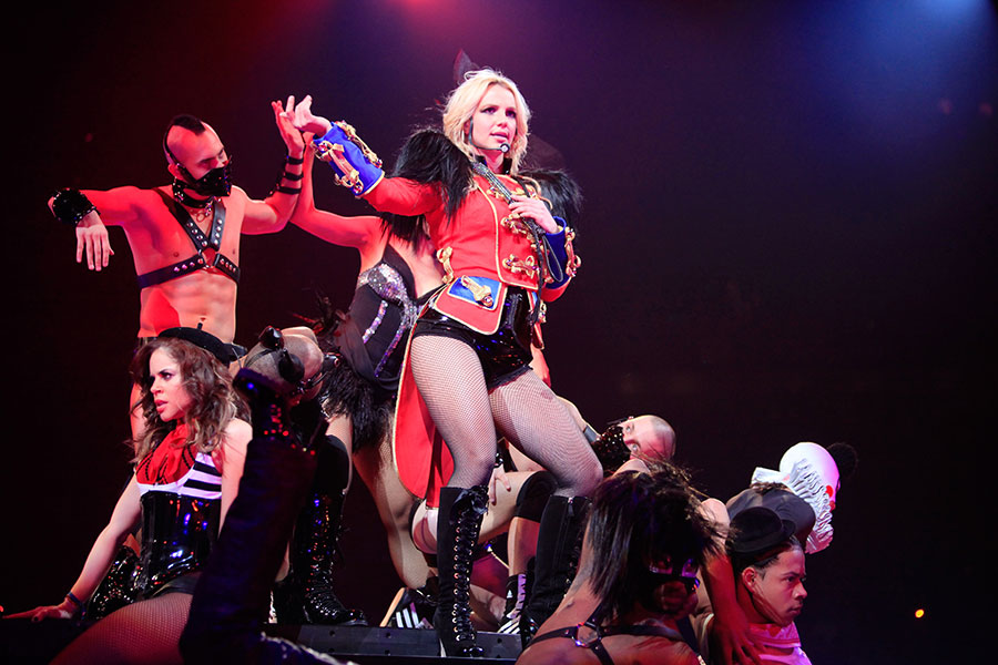 Britney Spears calls heckler 'fucking asshole' during Las Vegas live performance – watch