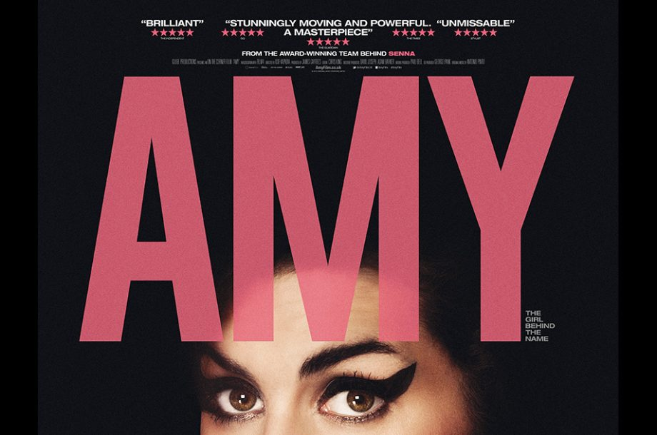 Main Poster For Amy Winehouse Documentary Film Unveiled